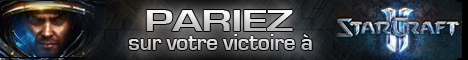 Parier à Starcraft 2
